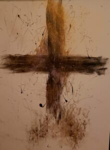 Ash Wed Cross by Amma Susan